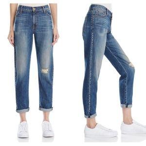 Current/Elliot 'The Fling' Studded Boyfriend Jeans